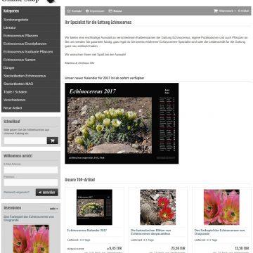 Echinocereus Online Shop