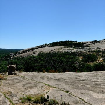 Desert View - Enchanted Rock State Natural Area, Texas (Video)